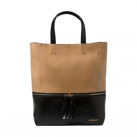 Sac shopping Pompadour Noir Cacharel